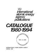 Iaea Nuclear Science Publications Catalogue Book PDF