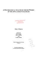 A Psychological Analysis of Abused Women of the Appalachian Coalfields