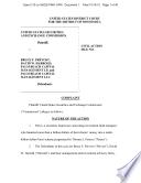 Bruce F. Prévost, David W. Harrold, Palm Beach Capital Management LP, and Palm Beach Capital Management LLC: Securities and Exchange Commission Litigation Complaint