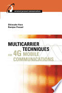 Multicarrier Techniques For 4g Mobile Communications Book PDF