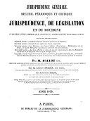 Jurisprudence générale ebook