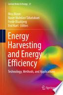 Energy Harvesting and Energy Efficiency Book