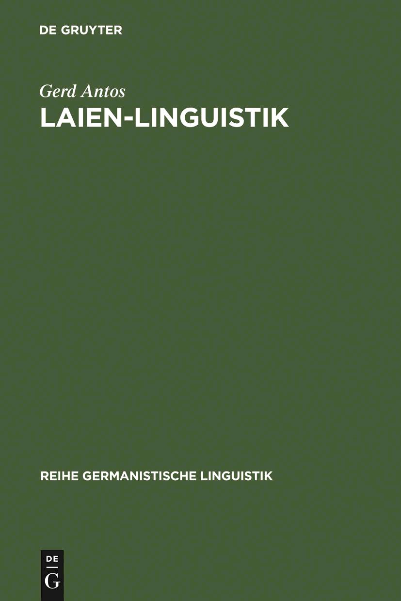 Laien Linguistik