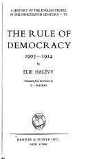 The rule of democracy  1905 1914