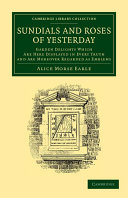 Sundials and Roses of Yesterday ebook