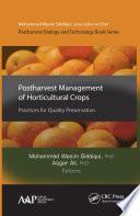 Postharvest Management of Horticultural Crops