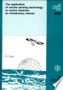 The Application Of Remote Sensing Technology To Marine Fisheries Book PDF