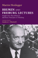Read Online Bremen and Freiburg Lectures For Free