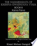 The Mahabharata of Krishna-Dwaipayana Vyasa Book 8 Karna Parva