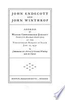 John Endecott and John Winthrop