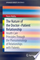 The Nature Of The Doctor Patient Relationship