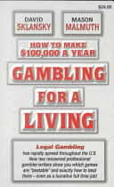 How to Make $100,000 a Year Gambling for a Living Pdf/ePub eBook
