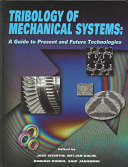 Tribology of Mechanical Systems