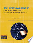Cover of Security Awareness: Applying Practical Security in Your World