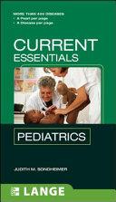 CURRENT Essentials Pediatrics