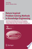 Nature Inspired Problem Solving Methods in Knowledge Engineering