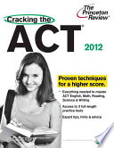 Cracking the ACT with DVD  2012 Edition