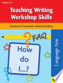 Teaching Writing Workshop Skills