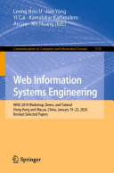 Web Information Systems Engineering