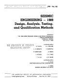 Seismic Engineering