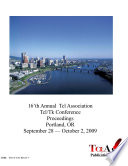 16 th Annual Tcl Association Tcl Tk Conference Proceedings