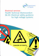 Electrical safety guidance for high voltage systems