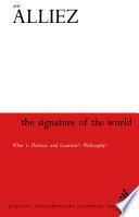 Signature of the World