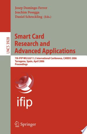 Download Smart Card Research and Advanced Applications Free Books - Read Books