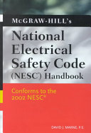 McGraw Hill s National Electrical Safety Code  NESC  Handbook