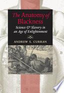 The Anatomy of Blackness Book