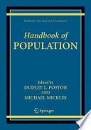 Handbook of Population Book