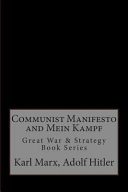 Communist Manifesto and Mein Kampf Book