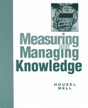 Cover of Measuring and Managing Knowledge