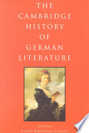 The Cambridge History of German Literature