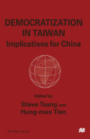 Democratisation in Taiwan