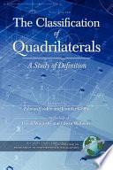 The Classification of Quadrilaterals