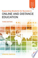 Supporting Students For Success In Online And Distance Education