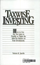 Taxwise Investing