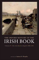 The Oxford History of the Irish Book  Volume IV