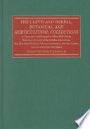 Read Online The Cleveland Herbal, Botanical, and Horticultural Collections For Free