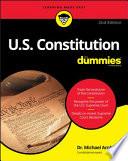 U S  Constitution For Dummies Book