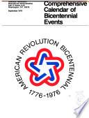 Comprehensive Calendar Of Bicentennial Events September 1976
