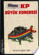 Türkiye Birleşik Komünist Partisi Büyük Kongre tutanağı