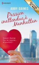 Passion inattendue à Manhattan Pdf/ePub eBook