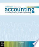 Accounting, Study Guide