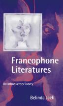 Francophone Literatures Pdf/ePub eBook