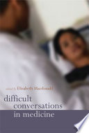 Difficult Conversations in Medicine Book