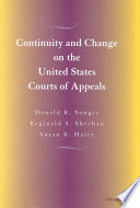 Read Online Continuity and Change on the United States Courts of Appeals For Free
