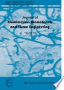 Journal of Biomimetics  Biomaterials   Tissue Engineering