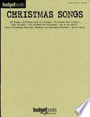 Christmas Songs (Songbook)